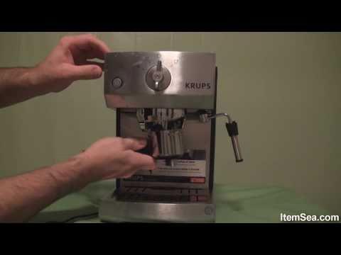 Krups XP5240 Pump Espresso Machine with Precise Tamp System (ItemSea)