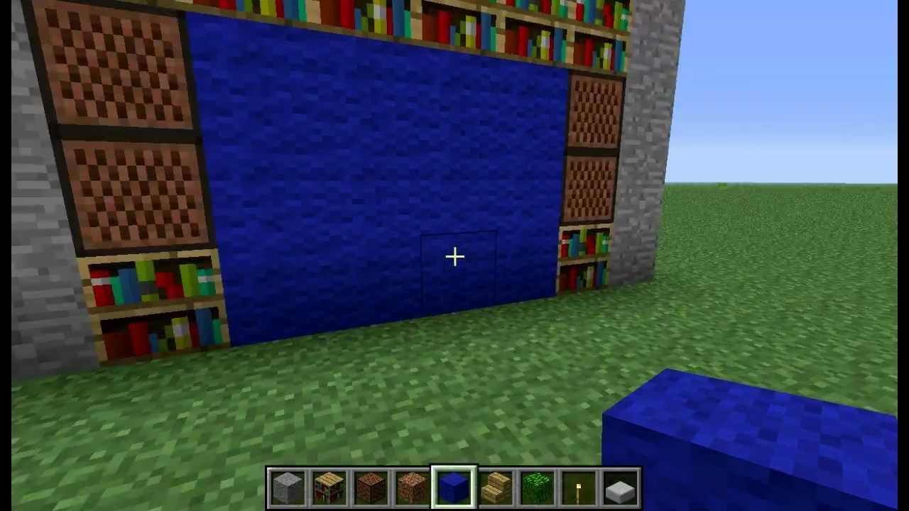 german tutorial how to build a real tv in minecraft mit sony vegas no fake youtube. Black Bedroom Furniture Sets. Home Design Ideas