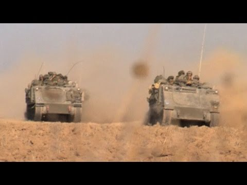 """A Terrifying Night in Gaza"": Sharif Abdel Kouddous Reports on Israeli Ground Invasion"