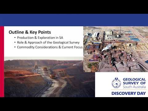 Mineral Commodities In South Australia – A GSSA Perspective
