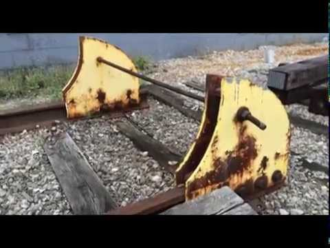 Model Railroads: Bumpers and End of Track Ideas. Track planning tip.
