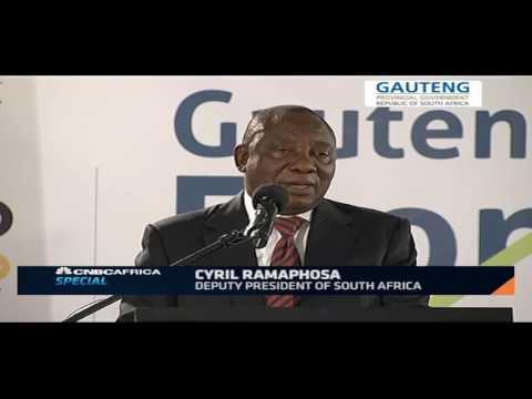 Dep President Cyril Ramaphosa speaks about S.A's economy