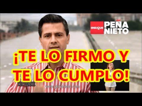#PuroPeñaNieto ¡Te lo firmo y te lo cumplo!