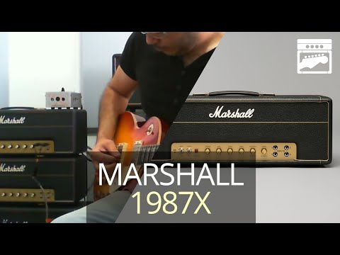 Marshall 1987x Plexi 50 Amp Demo