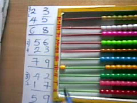 Abacus Tutorial Representing Numbers With The Abacus YouTube