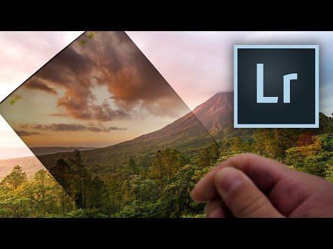Lightroom: Reverse Graduated Filters