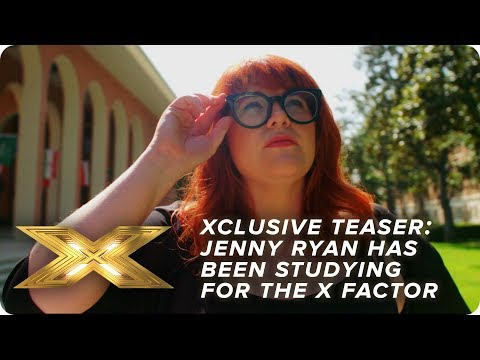 XCLUSIVE TEASER: The Chase's Jenny Ryan has been studying hard to impress! | X Factor: Celebrity