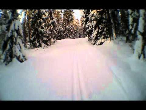 Classic style skiing, Helsinki 28.1.2012