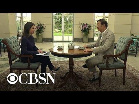 Bianna Golodryga on Huawei CEO interview