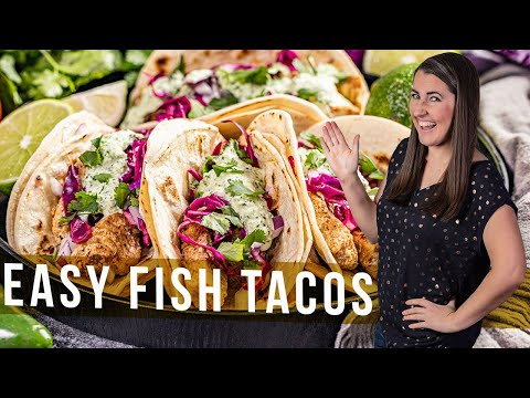 How To Make Easy Fish Tacos | The Stay At Home Chef