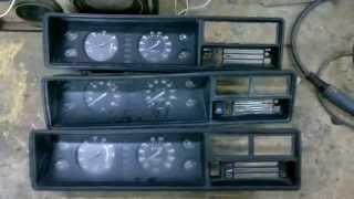 видео Панель приборов в инжекторном ВАЗ 21074