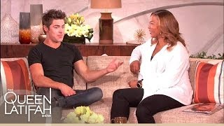 Zac Efron on Being Awe-Struck Meeting Queen Latifah on