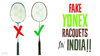How to spot a FAKE YONEX RACQUET? Explained