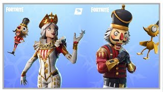 Fortnite: Crackshot & New Crackabella Skins + Backpacks + Snow Globe Axe
