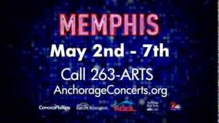 The Broadway smash, Memphis, comes to Anchorage, May 2 - 7