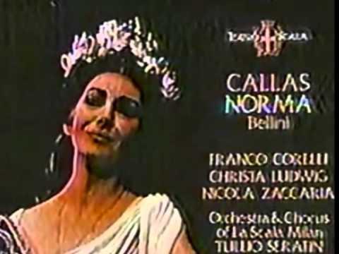 Maria callas casta diva bellini norma stereo 43 - Casta diva lyrics ...