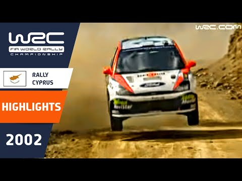 WRC Daily Highlights: Cyprus 2002 Day 1: 26 Minutes