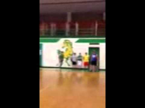 15 year old austin smith jumping over a friend. holly pond high school