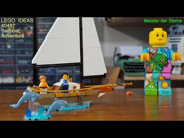 Meister der Steine, Gratis Set, LEGO 40487, Ideas Sailboat Adventure