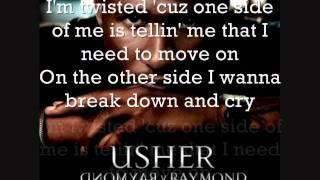 Usher- Burn (LYRICS)