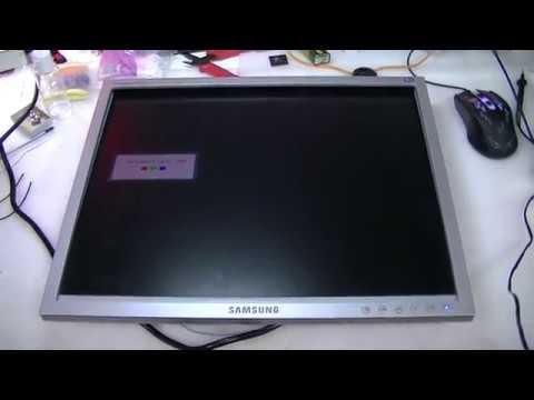 Восстановление подсветки монитора Samsung SyncMaster 940n. Переделка под 2 лампы