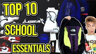 Top 10 Back to School Essentials!