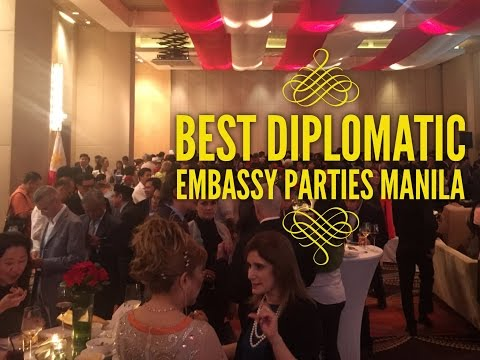 Best Diplomatic Embassy Parties Manila Philippines 2016 by HourPhilippines.com