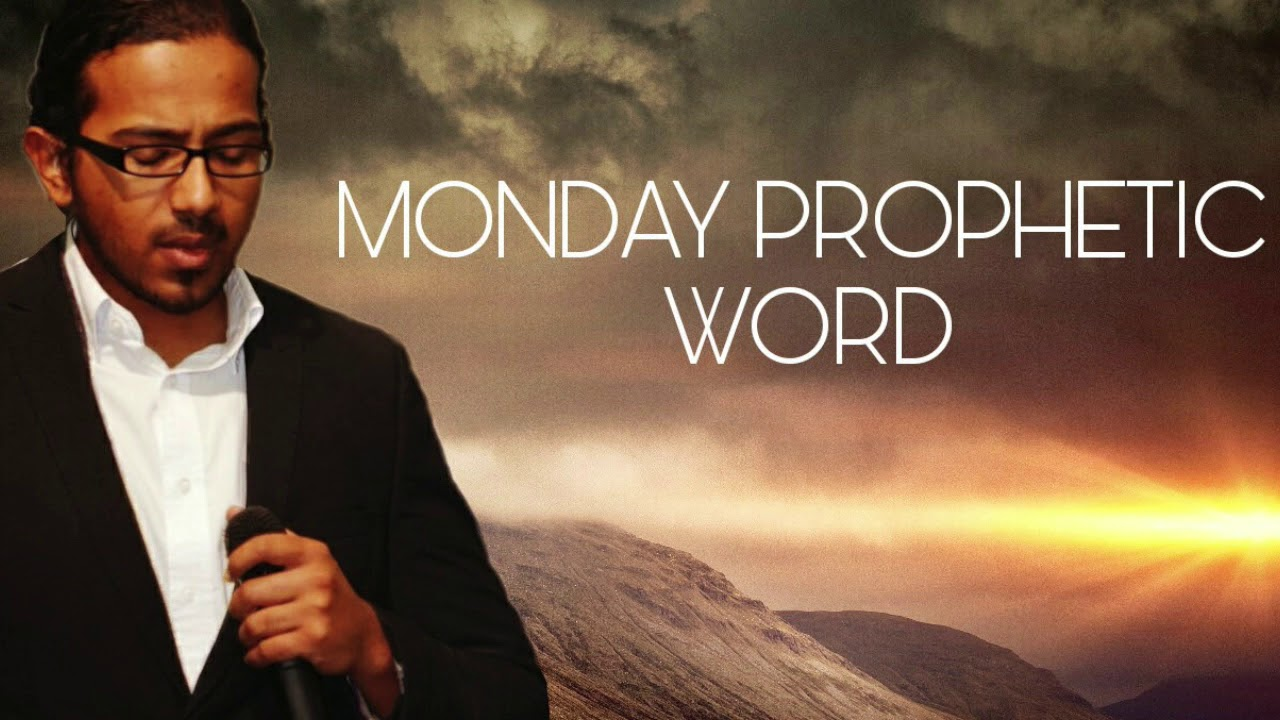 FOLLOW THE PEACE, Monday Prophetic Word, 9 December 2019