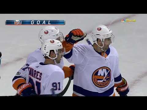 New York Islanders vs San Jose Sharks - October 14, 2017 | Game Highlights | NHL 2017/18