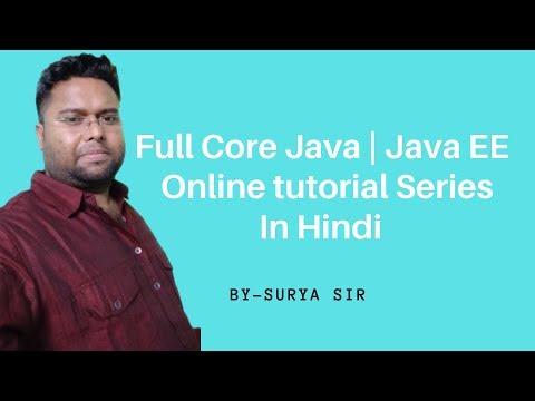 Core Java Online Training Session 34   Java Tutorial in Hindi   Java Tutorial For Beginners thumbnail