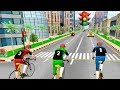 Bike racing games - Traffic Bicycle Rider 3D Racer - Gameplay Android free games