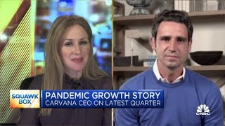 Carvana CEO on quarterly results, growth during the pandemic