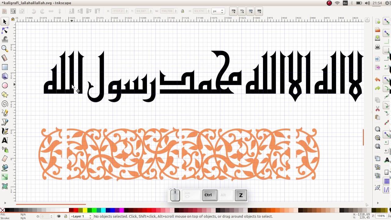 Membuat Kaligrafi Semudah Memasak Mi Instan Garansi Youtube