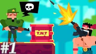 Gun Guys - Bullet Puzzle Gameplay Walkthrough Part 1 (Android,ios)