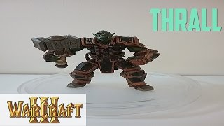Rare Vintage Warcraft 3 Thrall Action Figure Review!