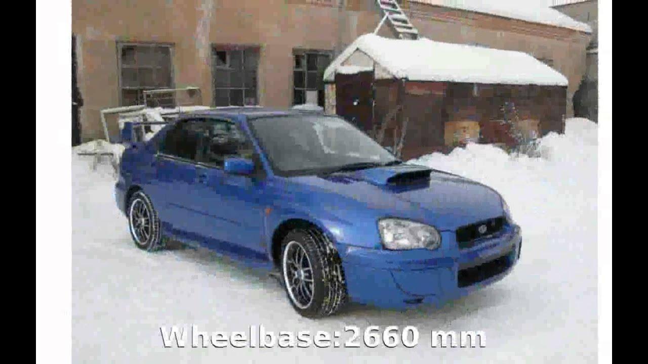 2003 subaru impreza 2 0 wrx sport wagon automatic specs details youtube