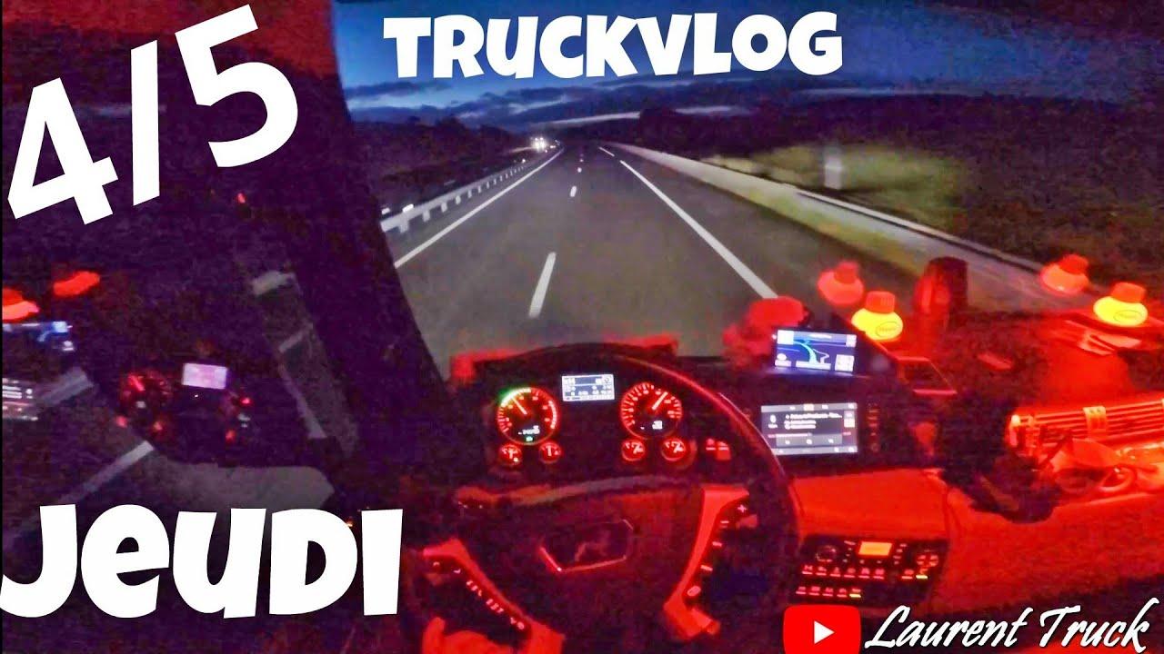 JEUDI  Truckvlog  4/5 Une semaine avec un routier français en 5 partie
