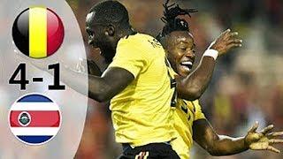 Belgium vs Costa Rica 4-1 Highlights | FIFA WORLD CUP 2018