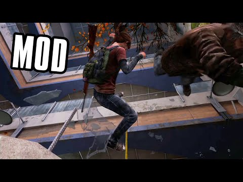 Ellie Gets Impaled (The Last Of Us Mod)
