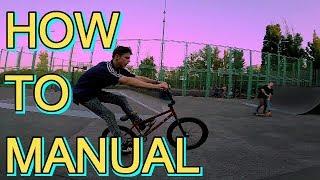 ОБУЧАЛКА НА МЭНУАЛ(MANUAL)/КАК НУЖНО БАЛАНСИРОВАТЬ/ТРЮКИ НА BMX ДЛЯ НАЧИНАЮЩИХ/ШКОЛА BMX