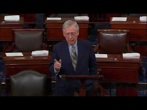 10-1-18 Senate Majority Leader Mitch McConnell Delivers Remarks On Kavanaugh Hearing