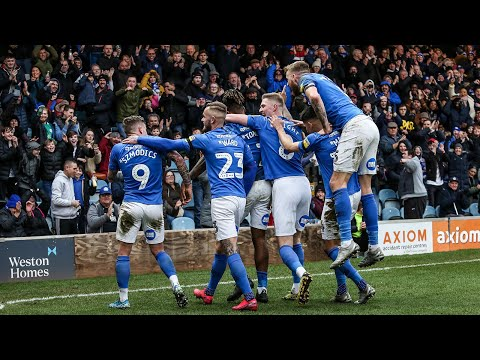 Peterborough Portsmouth Goals And Highlights