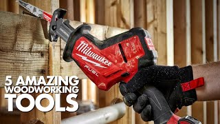 5 Amazing Woodworking Tools Every Man Needs to Have