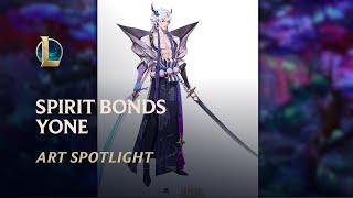 Spirit Blossom Yone - Spirit Bonds: Art Spotlight | League of Legends