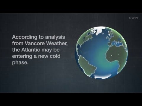 GWPF Climate Briefing: Atlantic Sea Surface Cooling