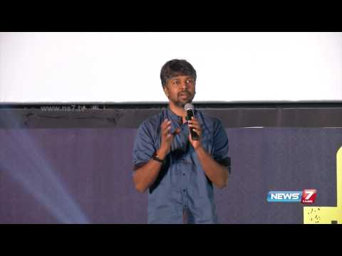 Madhan Karky lauds Thamarai for her lyrics in Irumugan | Audio Launch | News7 Tamil