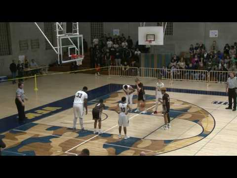 Valley Forge Military Academy Basketball vs Catasauqua HS 3.1.17 District Semi Final!!