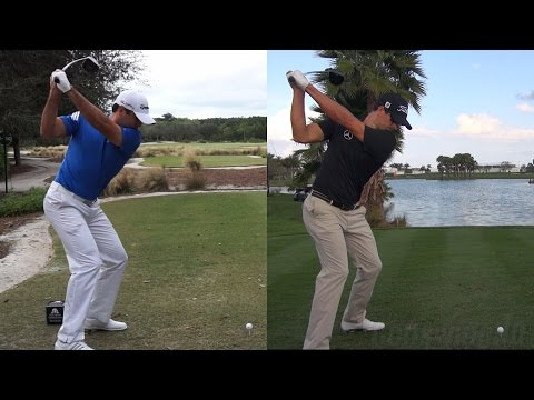 JASON DAY vs ADAM SCOTT BEST GOLF SWINGS – DRIVER SLOW MOTION 1080p HD