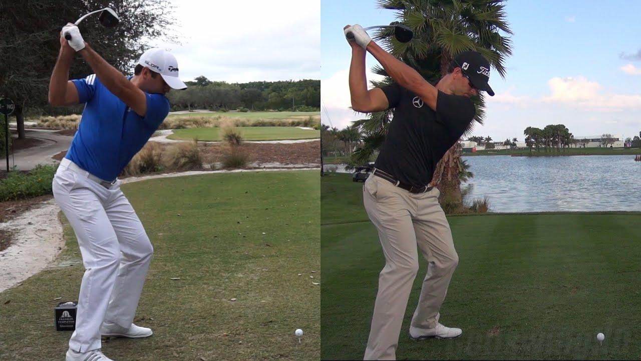Jason Day Vs Adam Scott Best Golf Swings Driver Slow Motion 1080p Hd
