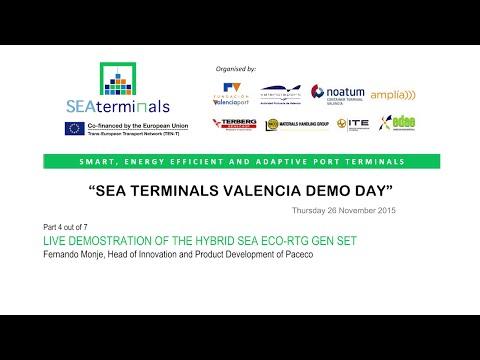 SEA TERMINALS Demo Day 4/7 (Valencia)
